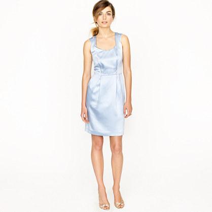 Kendall dress in silk satin