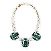 Grand stone necklace