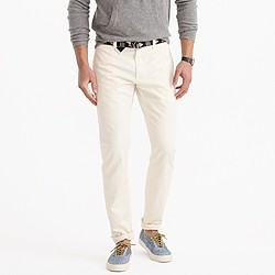 Sun-faded chino in 484 fit