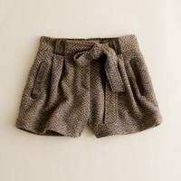 Tweed walkway short