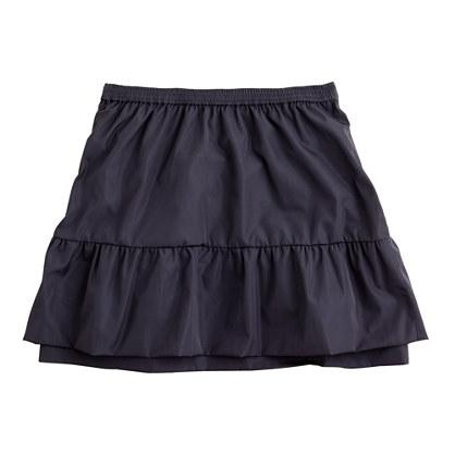 Girls' taffeta prance skirt