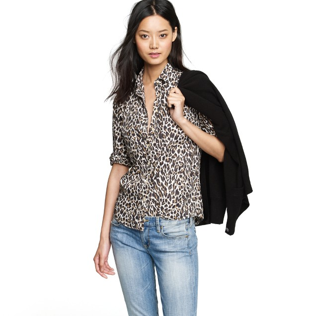 Perfect shirt in leopard