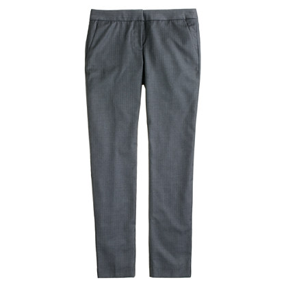 Tall Paley pant in pinstripe Super 120s wool