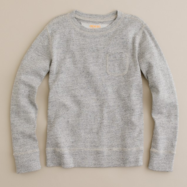 Boys' twisted jersey popover