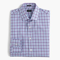 Tall Ludlow shirt in bicolor gingham
