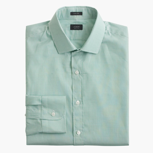 Ludlow shirt in gingham