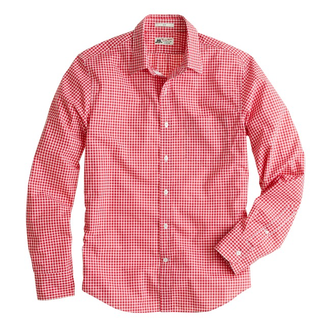 Slim Thomas Mason® for J.Crew shirt in small gingham