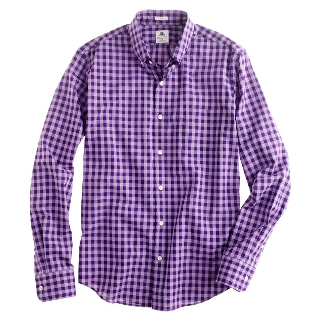 Slim Thomas Mason® Archive for J.Crew shirt in 1909 plaid