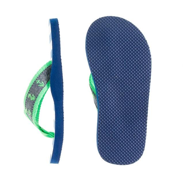 Kids' anchor flip-flops