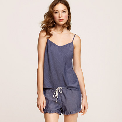 Chambray sleep cami