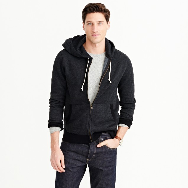 Tall full-zip hoodie