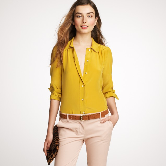 Silk Lucinda blouse
