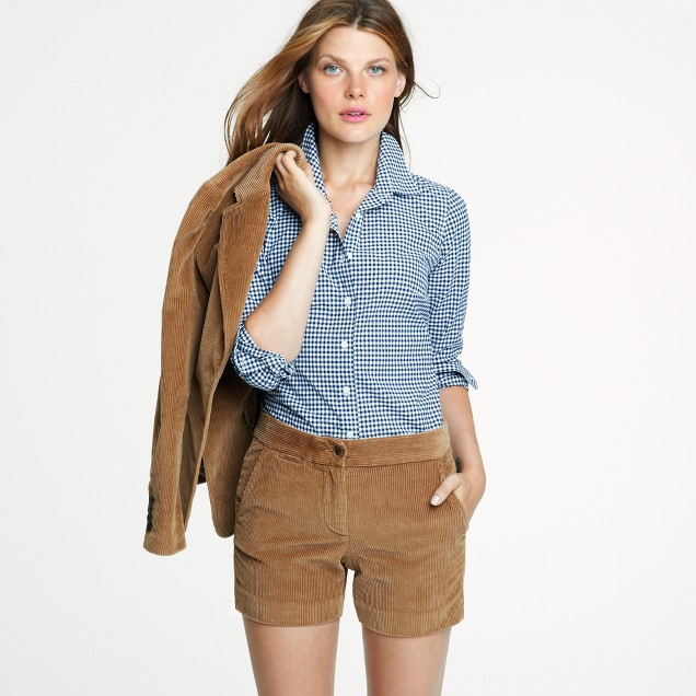 Petite perfect shirt in medium gingham