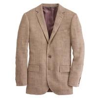 Ludlow sportcoat in wide herringbone Italian linen