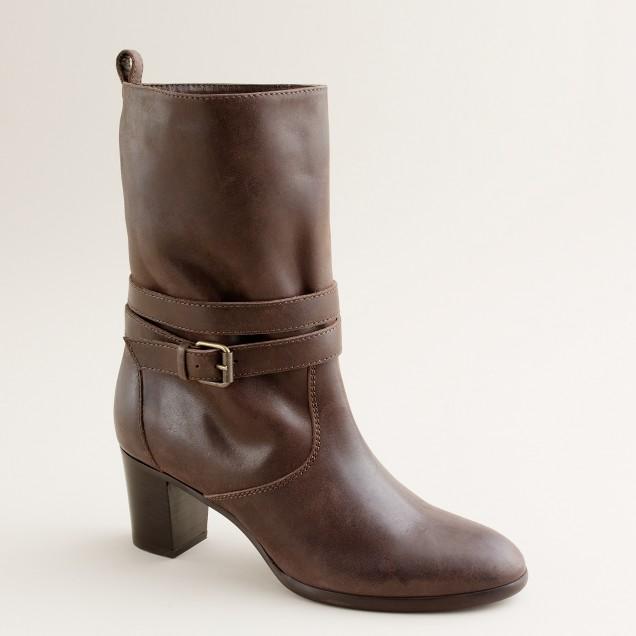 Billie midheel buckle boots