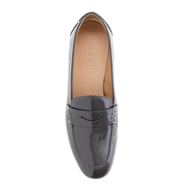 Biella patent loafers