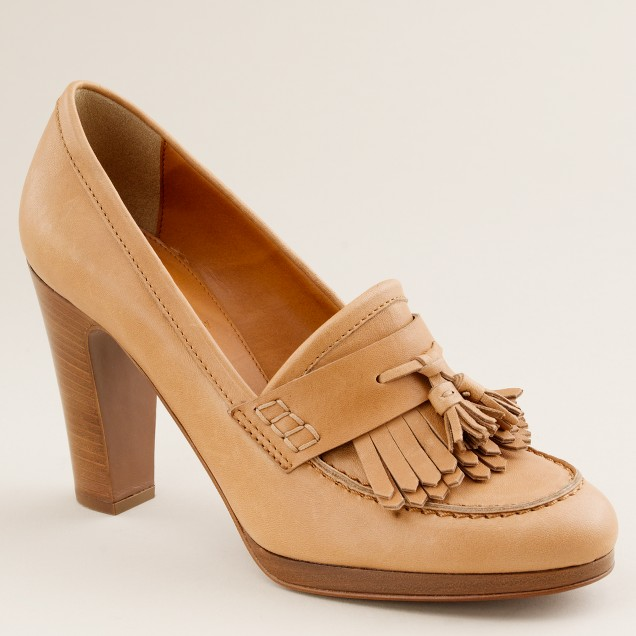 Paddy high-heel loafers