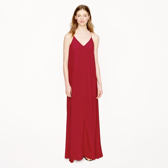 Collection silk maxidress