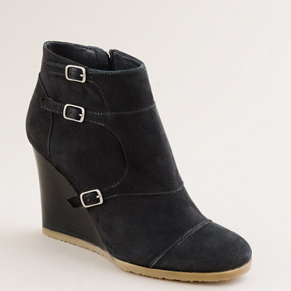 Greer wedge ankle boots