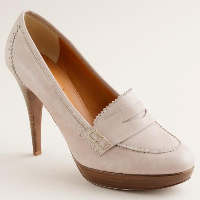 Biella high-heel loafers