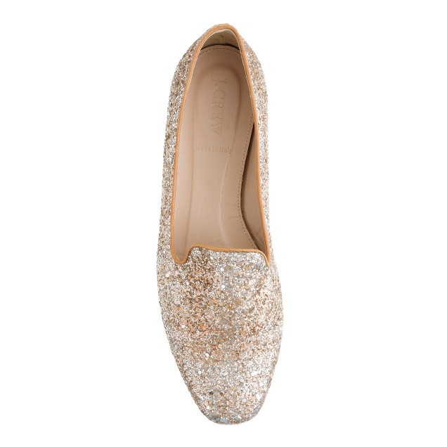 Darby glitter loafers