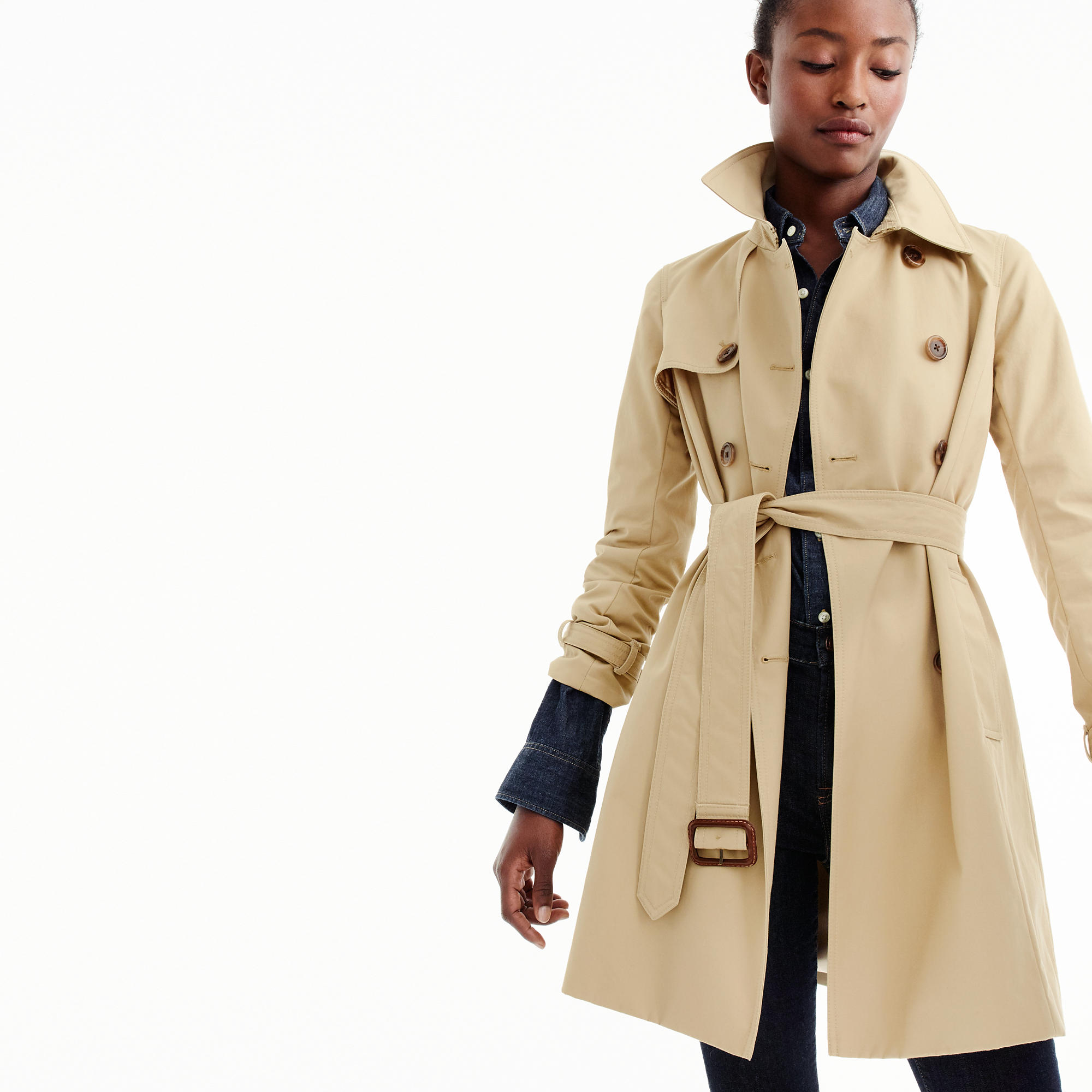 Petite Icon Trench Coat : Women's Coats & Jackets | J.Crew