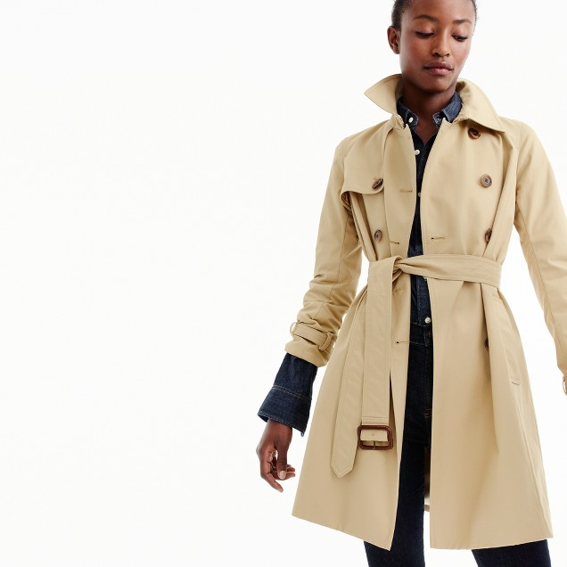 Petite icon trench coat