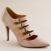 Adrianna buckle pumps