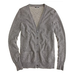 Collection cashmere boyfriend cardigan sweater