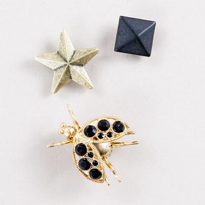 Mini-pin trio