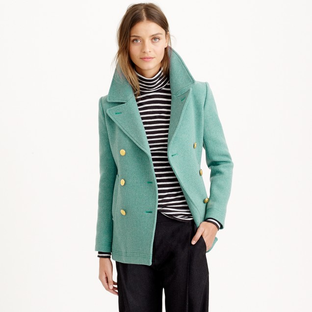 Tall majesty peacoat