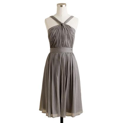 Sinclair dress in silk chiffon
