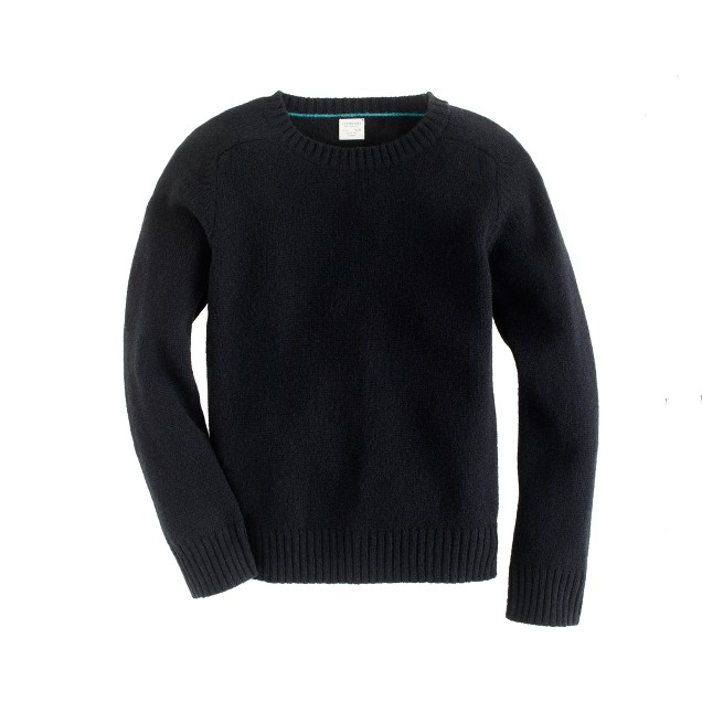 Boys' lambswool sweater