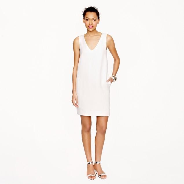 Collection linen cutout dress