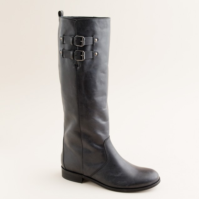 Billie buckle boots with extended calf
