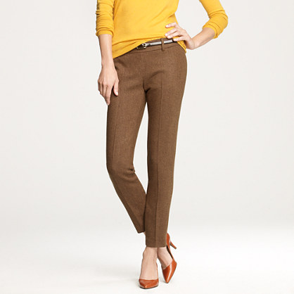 Minnie pant in wool herringbone