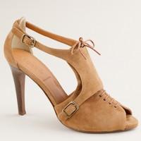 Greer lace-up heels