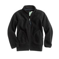 Boys' winter fleece full-zip jacket