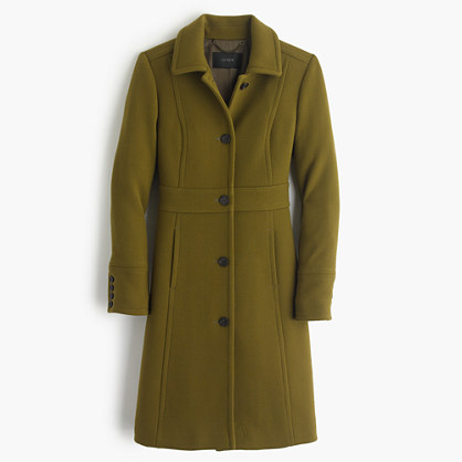 Petite double-cloth lady day coat with Thinsulate®