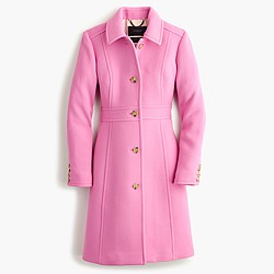 Tall double-cloth lady day coat with Thinsulate®