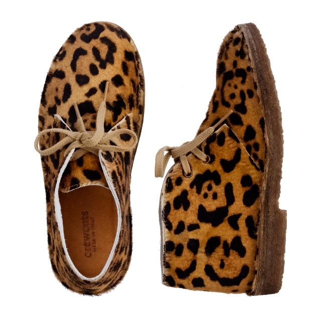 Girls' leopard MacAlister boots