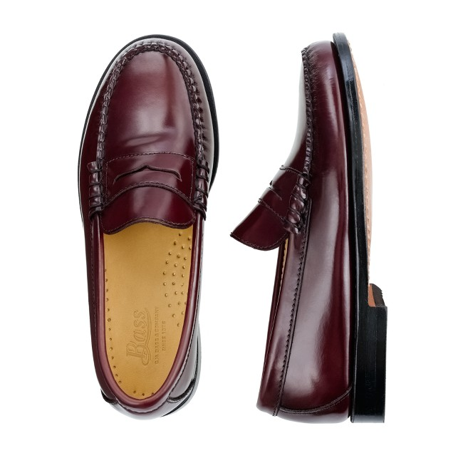 Boys' G.H. Bass® & Company leather-lined penny loafers