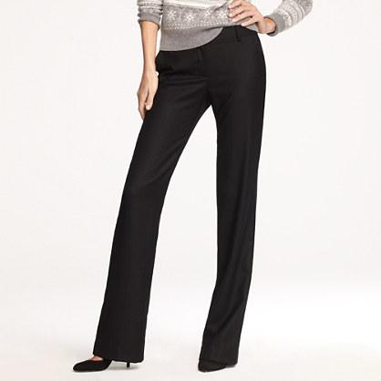 Café trouser in wool