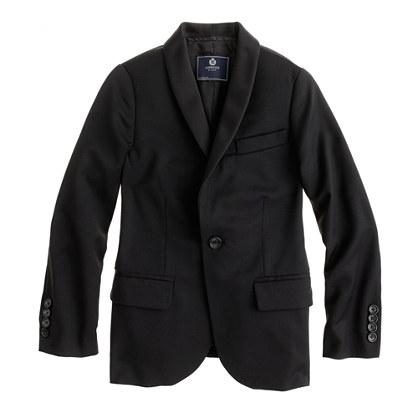 Boys' Ludlow tuxedo jacket in Italian wool