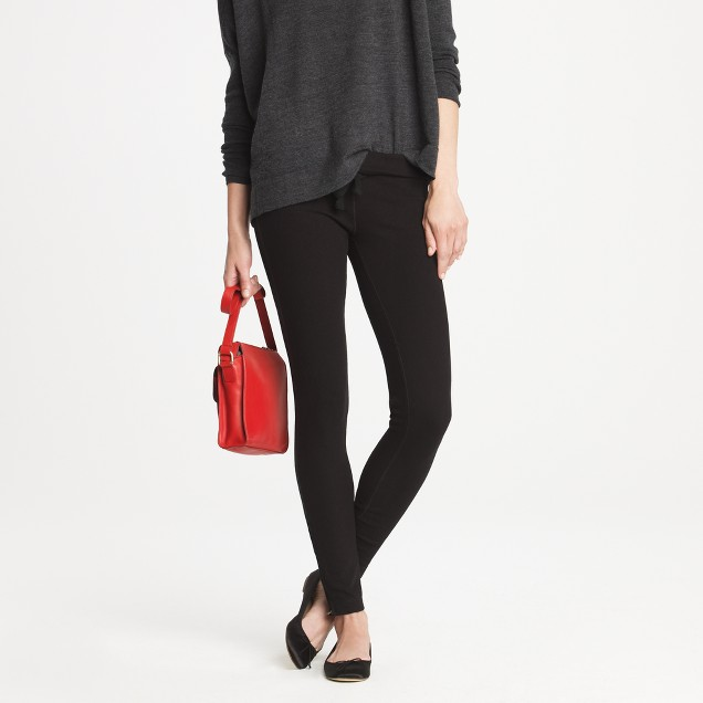 Saturday pant with ankle zip