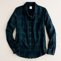 Perfect shirt in Blackwatch plaid