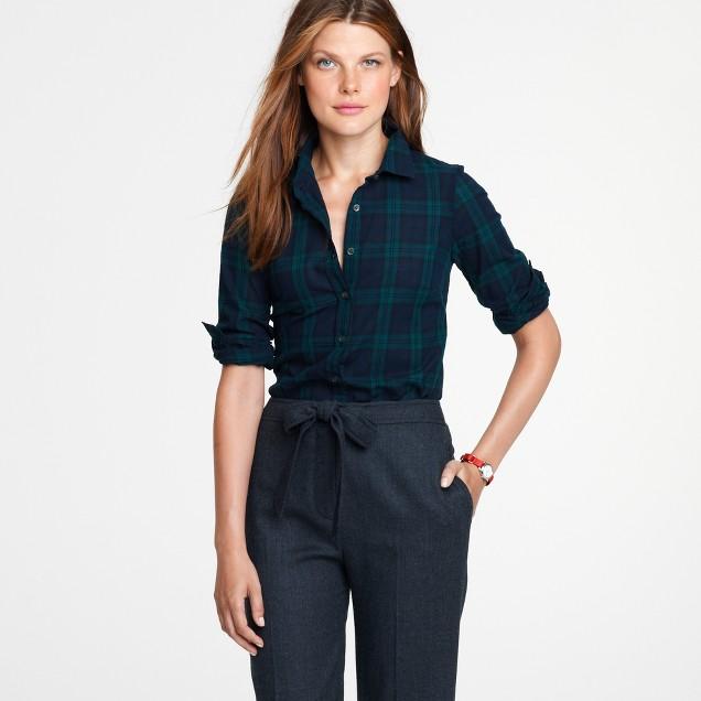 Perfect shirt in Blackwatch plaid