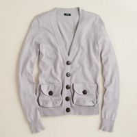 Pouch-pocket cardigan