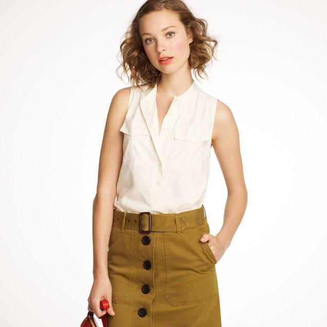 Elodie sleeveless blouse