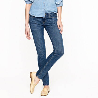 Tall matchstick jean in starlight wash